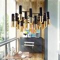Скандинавский современный креативный алюминиевый подвесной светильник для гостиной  отеля  спальни  ресторана  простая Золотая Светодиодн...