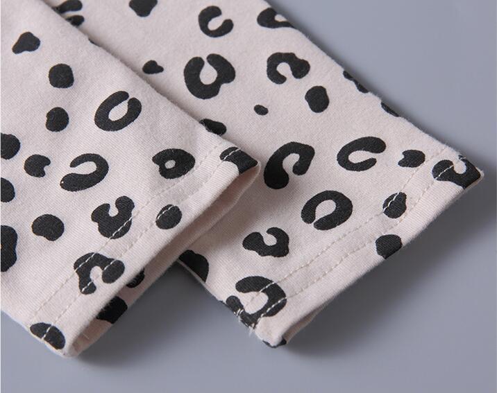 Ultimate SalePajamas-Set Sleepwear Evening-Dress Spring Girls Leopard Kids Autumn Cotton Children