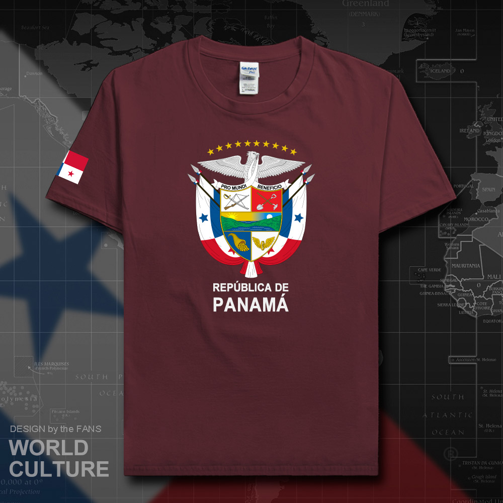 Panama Panamanian men t shirt fashion 2018 jerseys nation team 100% cotton t-shirt clothing tees country sporting flags PAN 20