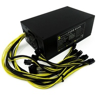 1600W Psu Atx Power Supply For Antminer S9 S7 A6 A7 R4 L3 C9 Max 1800W