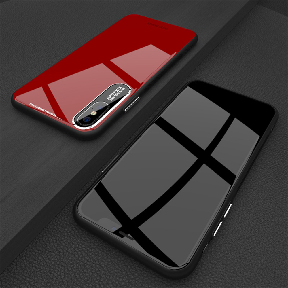 Painted Glossy Phone Case For iPhone 6 6s 7 8 plus Shining Soft TPU Silicone Back Cover for X XS Max XR