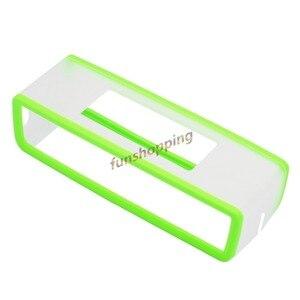 Image 4 - Yeni Moda TPU Yumuşak silikon kılıf Bose SoundLink Mini bluetooth hoparlör Silika jel Koruma Seyahat Çantası hoparlör kutusu