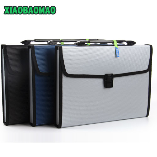 Classic Premium A4 File Folder Document Bags Expanding Wallet Business Series Folder Bag Office School Supplies 3 Colors a4 file folder bag expanding wallet plastic file organizer a4 rainbow document bag fichario escolar the office school supplies