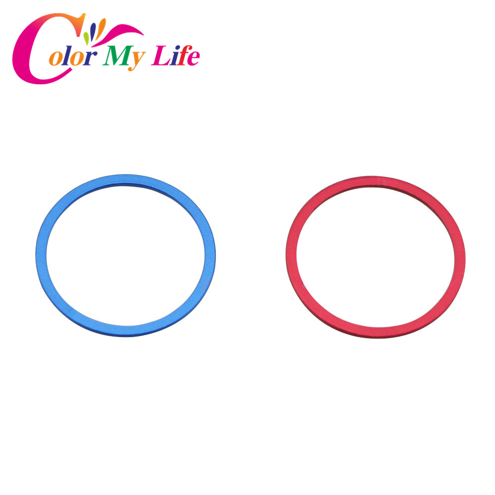 Color My Life Car Auto Decoration Circle Cover Trim Econ Protection Sticker for Honda Cr-v <font><b>Crv</b></font> 2016 2017 <font><b>2018</b></font> <font><b>Accessories</b></font> image
