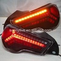 2012 2014 год для TOYOTA GT86 FT86 Светодиодные ленты сзади свет красного цвета JY