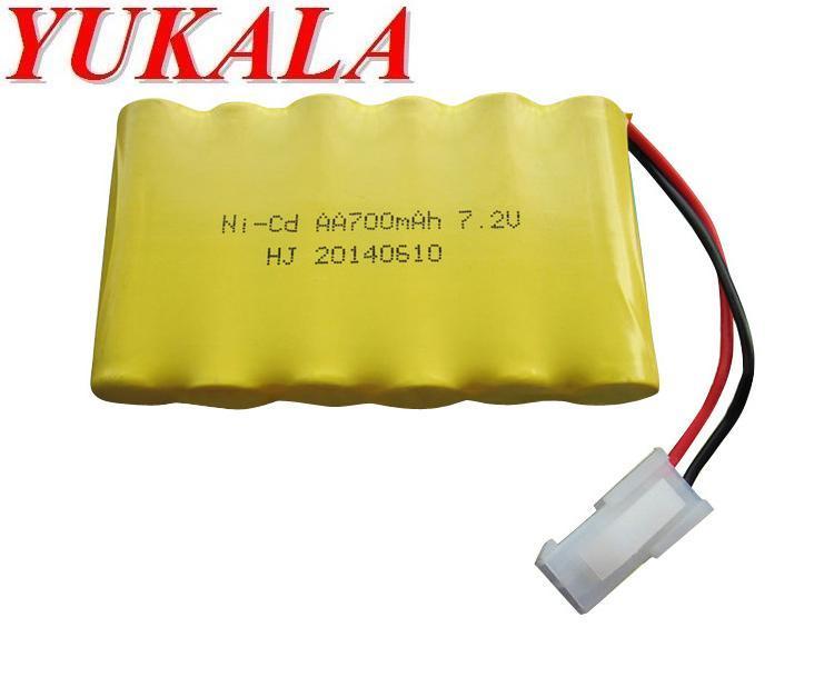 7.2V 700mAh Ni-CD AA battery for 510 513 523 RC car RC boat battery  Free shipping mos rc airplane lipo battery 3s 11 1v 5200mah 40c for quadrotor rc boat rc car