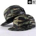 Recién llegado! Camflouge ala plana Snapback gorras de béisbol del ejército del Hip Hop sombrero de moda hombres mujeres adultas