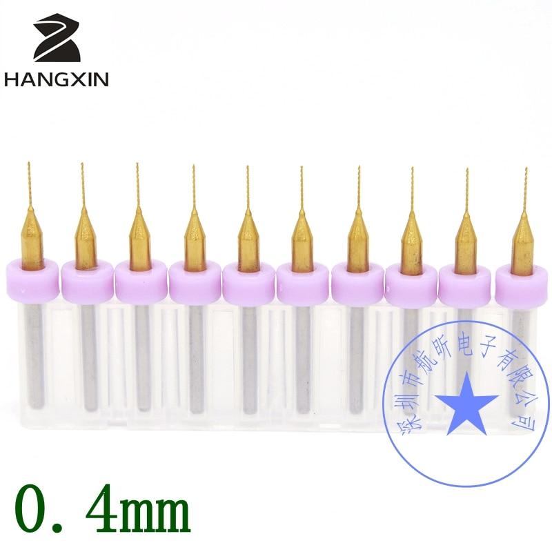 Titanbelagd PCB-borr 0,2-1,2 mm, 10 STCCNC CNC-fräs, - Borr - Foto 6