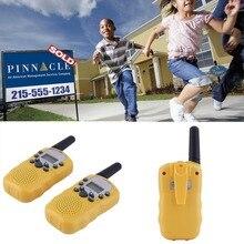 2pcs Kids Walkie Talkie Toys For Children 0.5W 22CH Two Way Wireless Portable Radio Transmitter Kids Boys Girls Brithday Gift