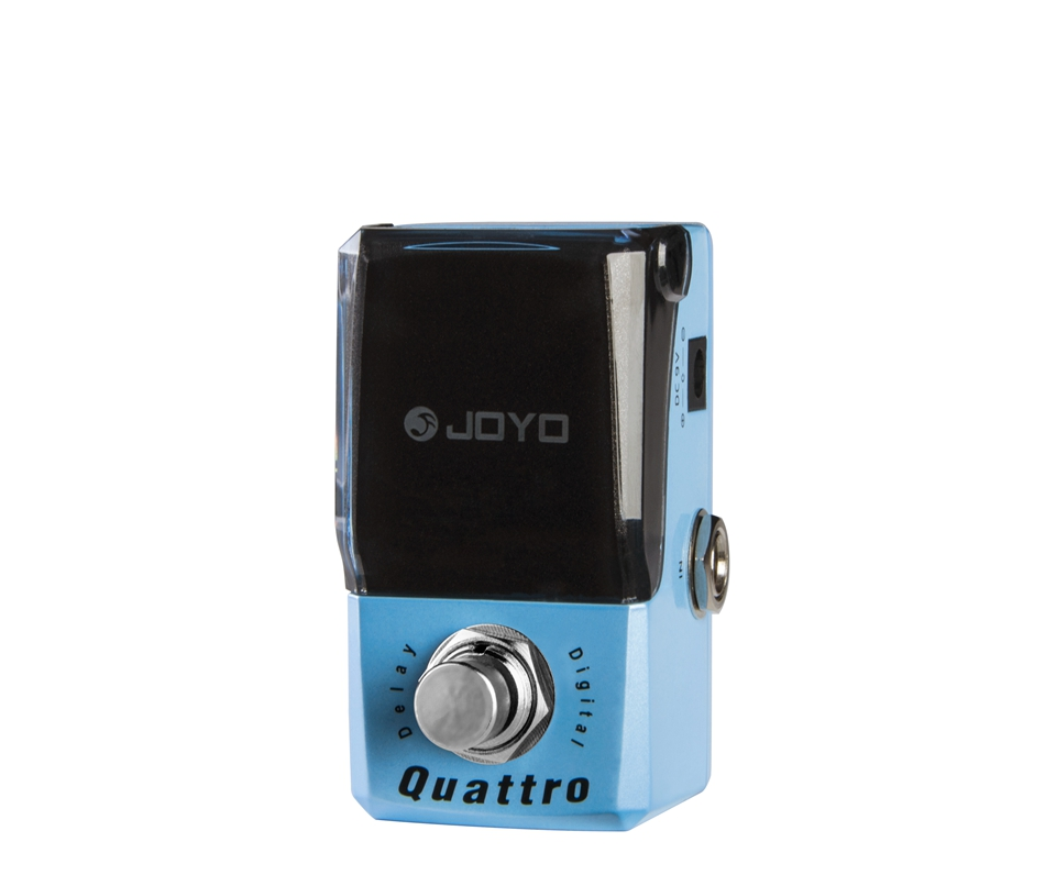 JOYO Delay Guitar Effect Pedal Quattro Four Mode Delay Maximum Is Exactly 958.3 ms COPY / ANALOG / MODULATION / FILTERED joyo ironman digital guitar effects pedal delay guitarra stompbox copy analog modulation filtered delay models truebypass