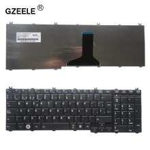 GZEELE Spanish SP Laptop keyboard for toshiba Satellite L755-16M L755-18E L755-1HW MP-09M86E06920 QWERTY black laptop