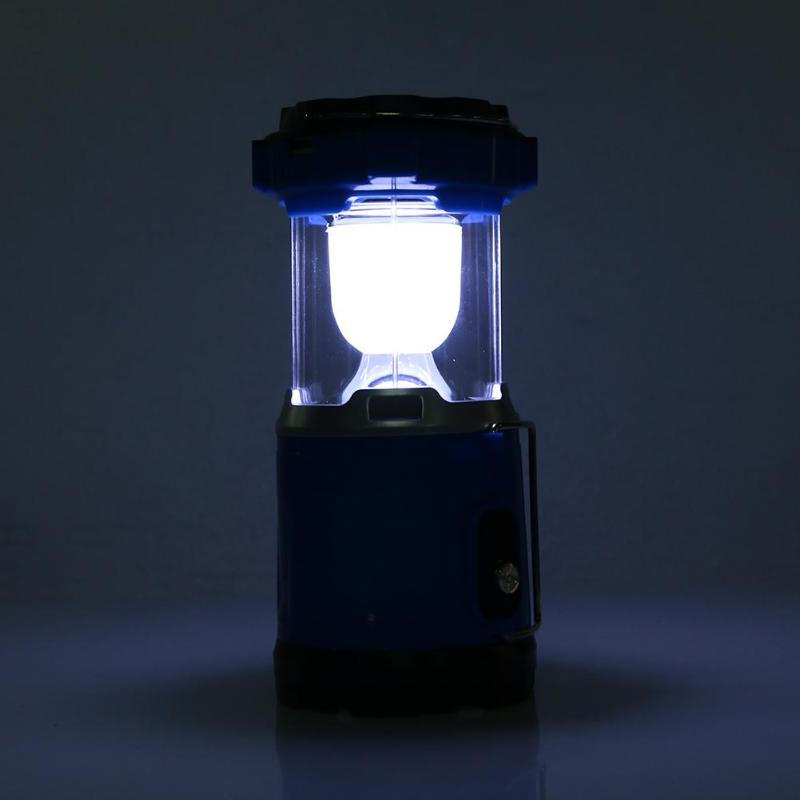 Super Bright LED Solar Lamp Rechargeable LED Portable Lanterns Outdoor Camping Tent Light Hanging Lamps Power Bank