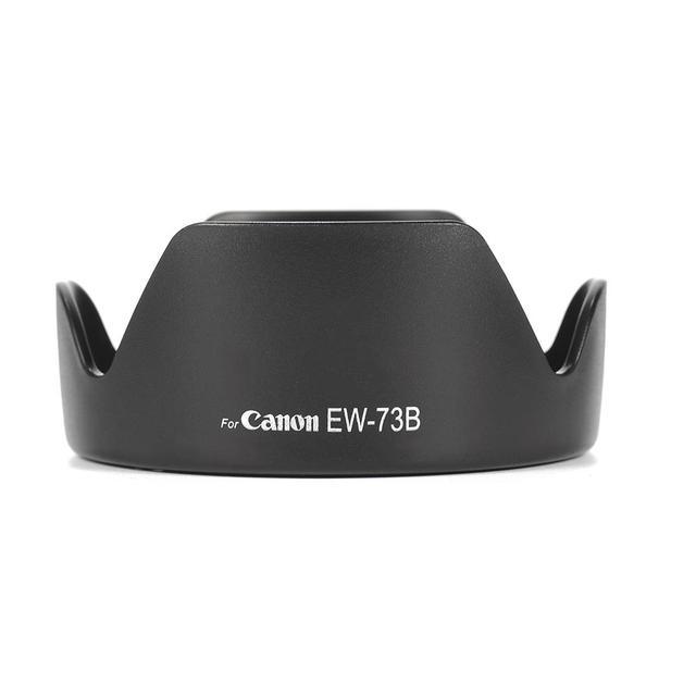 Nouveau EW-73B pare-soleil pour monture de caméra adapté pour Canon EF-S 17-85 MM f/4-5.6 est USM objectif Canon EF-S 18-135 MM f/3.5-5.6 est objectif