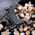 Free shipping Compass Tattoo Machine Mariana Liner 8 Wraps Steel Frame Copper Coils gun WQ2065-1