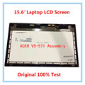 15'' Laptop lcd assembly For Acer V5-571P V5-571 V5-571PGB  LCD Assembly LCD PANEL B156XTN03.1 touch screen with digitizer