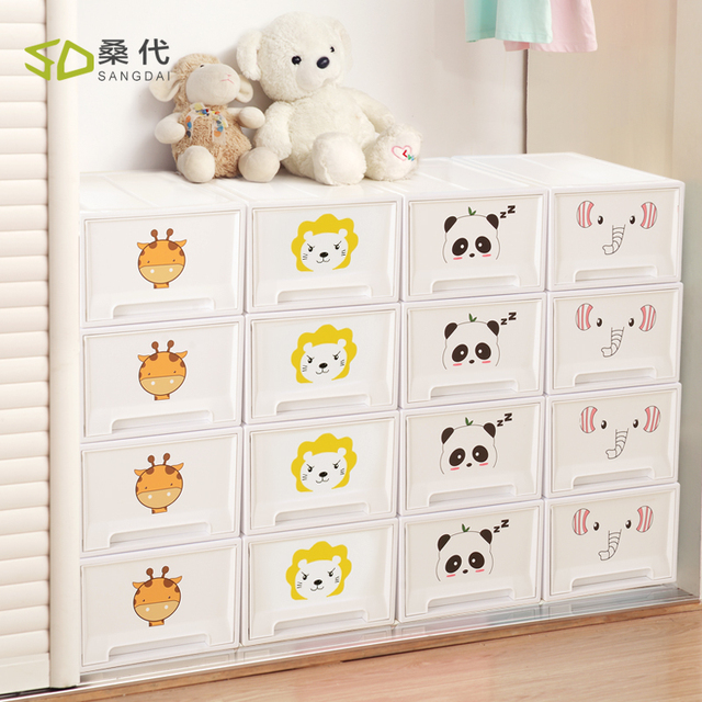 Aliexpress.com : Buy 1PCS plastic storage cabinets with drawers ...