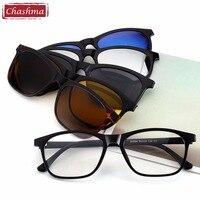 Chashma Brand Clip Sun Glasses Optical Glasses Frame With Clip