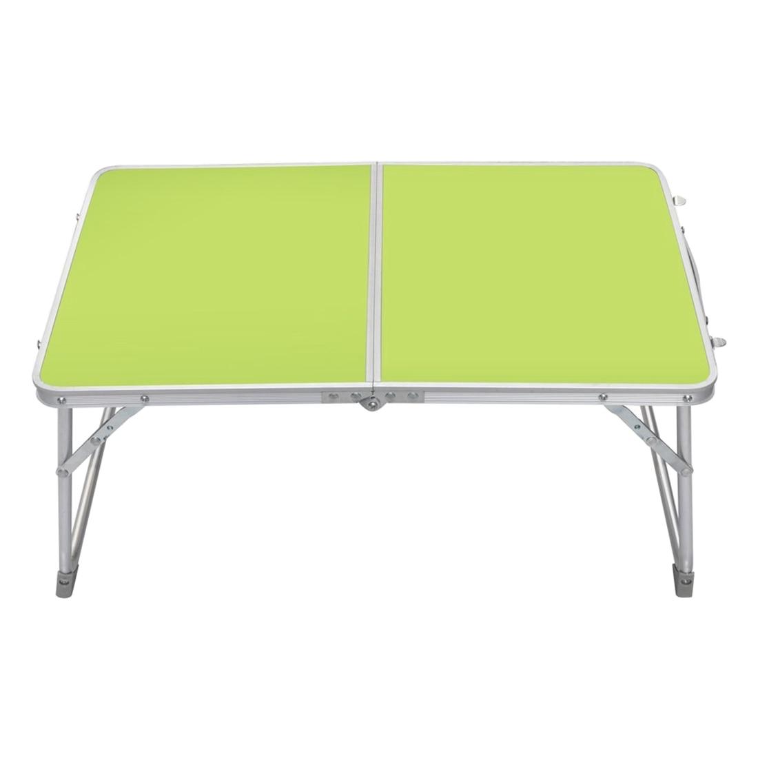 Небольшой 62x41x28 см/24.4x16.1x11 PC ноутбук стол-кровать стол отдых пикник Принадлежности для шашлыков (зеленый)