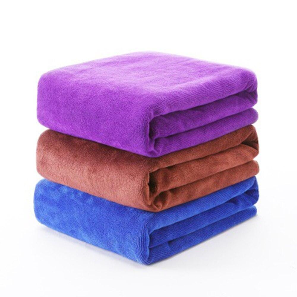 Полотенце для мытья автомобиля, тряпка из микрофибры, мягкая, 30 Х70 см