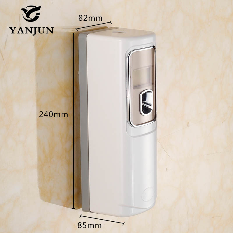 ФОТО Yanjun Light Sensor Digital Control Automatic Aerosol Dispenser Air Freshener Automatic Spray Bathroom Accessories YJ-5109