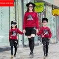2015 новый высокое качество семья одежда детской mujer мальчиков одежда roupas mae filha roupa семья взгляд бесплатная доставка