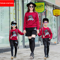 2015  NEW high quality family clothing sets kids clothes ropa mujer boys clothing roupas mae filha roupa family look freeship