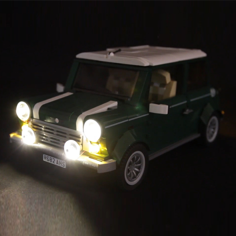 Lego 10242 LED light MINI Cooper Creators Car Model Toys Brickkits (only light)