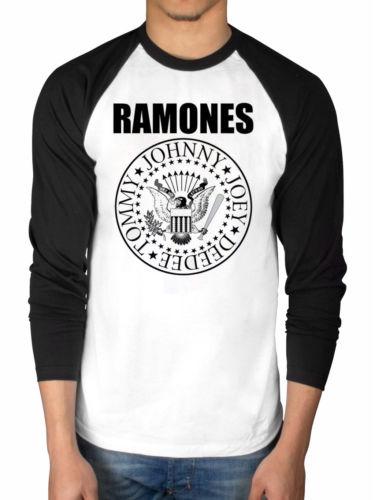 Ramones Presidential Seal Raglan T shirt men gift Casual long sleeve tee USA size S-3XL