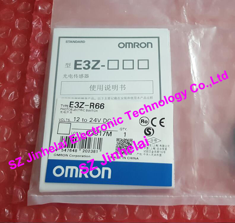 E3Z-R66 New and original OMRON Photoelectric switch 12-24VDC new and original e3z ll86 e3z ls86 omron photoelectric switch 12 24vdc