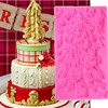 1PCS Christmas Trees Silicone Mold 3D Craft Wedding Fondant Cake Decorating Tools Sugar Paste Candy Chocolate