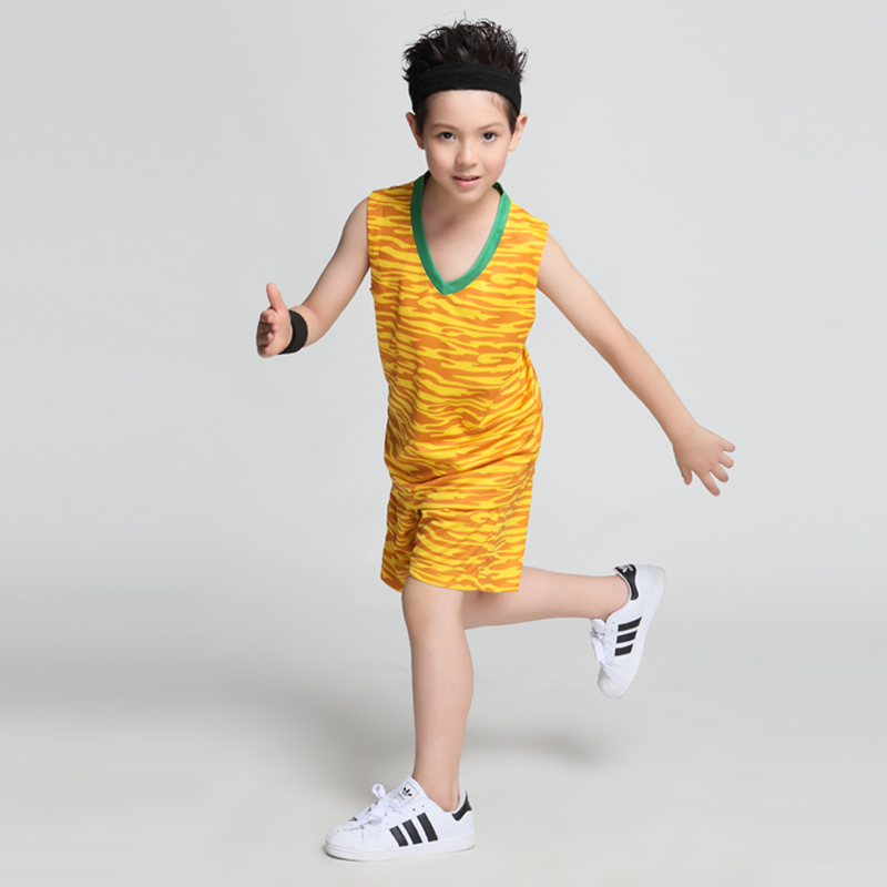 Sports & Entertainment Straightforward Hot Children Sets Basketball Uniforms Boys And Girls Sports Kids Vest Active Breathable Training Suits Basketball Custom Set