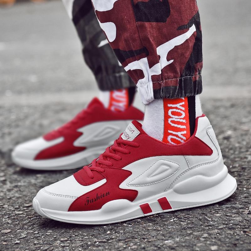 Casual gray 2018 Marque Nouvelle Chaussures Black Toile Low Printemps Sneakers Top De red D'été Mode Hommes Noir PddCxZHwqF