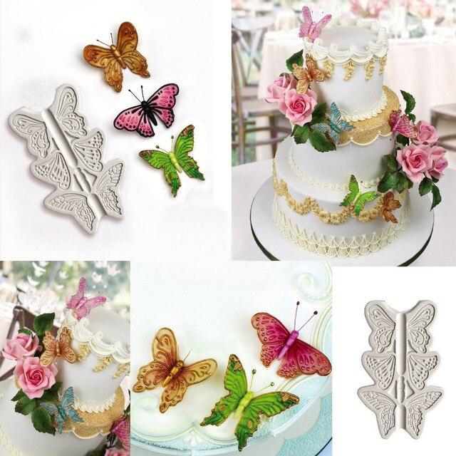 vlinder taart decoratie