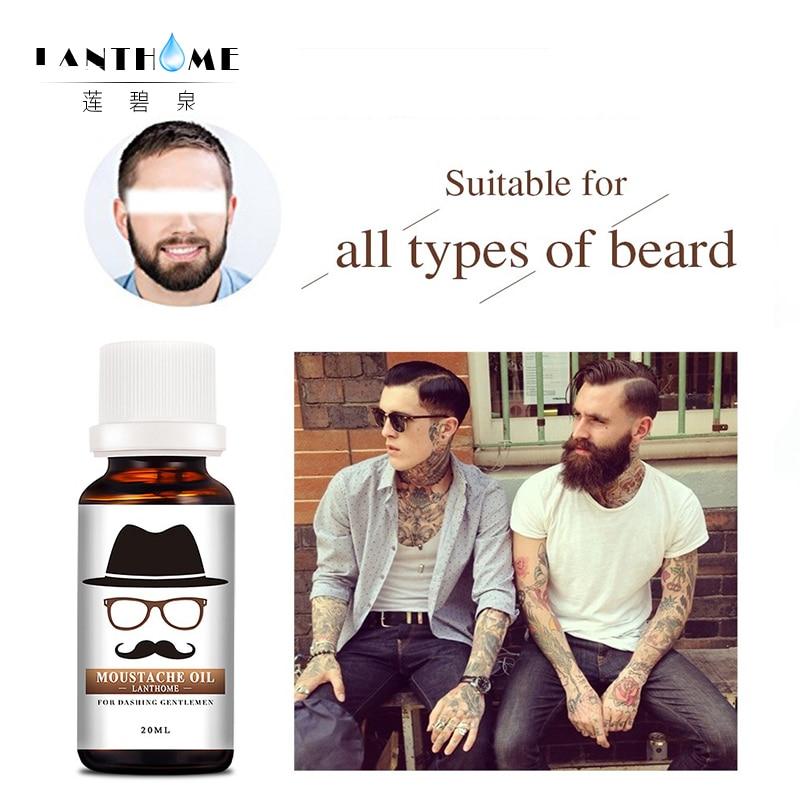 Органическое Масло для бороды борода сущность рост бороды масло-спрей роста волос продук ...