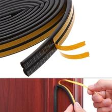 5/10M анти-столкновения пены Excluder Звукоизолированные самоклеющиеся оконные и дверные профили этиленового пропилен-каучука прокладки оборудование для вашего дома