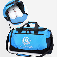 Professional Large Capacity Sports Bag Waterproof Gym Bag For Shoes Storage Men Women Packable Duffle Sports