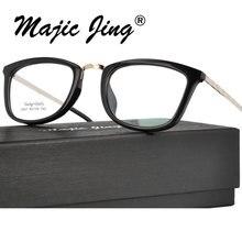 Magic Jing  TR90 myopia eyeglasses eyewear prescription spectacles full rim for men glasses 6007