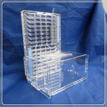 T Edition Acrylic Big Ants Nest Ant Farm with Food Feeder Moisture  Feeding Area Double Water Tower Insect Cages