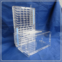 T Edition Acrylic Big Ants Nest Ant Farm with Food Feeder Moisture Feeding Area Double Water Tower Ant Nest Insect Cages