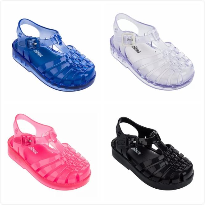 Melissa Shoes Summer New Roman Boy Girl Sandals Brazil ...
