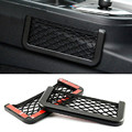 2016 HOT Car Multifunctional Storage Tuck Net String Bag Phone Holder Ticket Pocket Universal For storage network Free Shippin