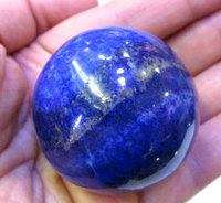 30 50mm Sphere Ball AAA Grade Untreated Genuine Lazulie Lapis Gemstone Cabochons Round Blue Bead
