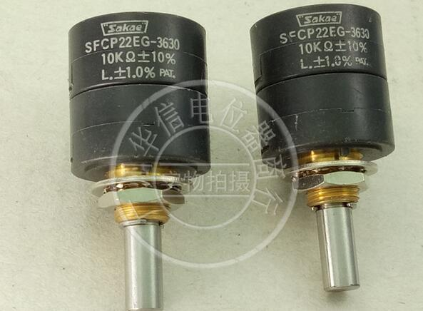 [VK] Japan SFCP22EG-3630 10K SFCP22EG double conductive plastic potentiometer diameter 6MM spanish two tone double potentiometer 10k 50k
