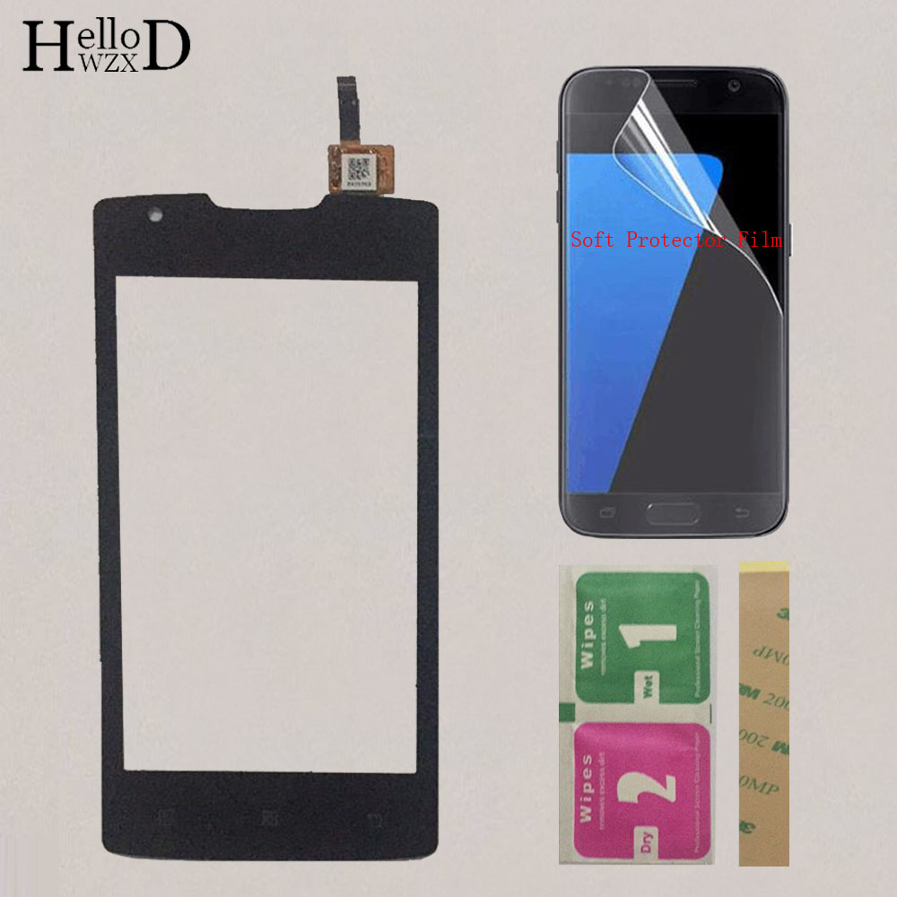 4.0'' Mobile Phone For Lenovo A1000 Touch Screen Touch Panel Digitizer Front Glass Sensor For Lenovo A 1000 Touchscreen + Gift