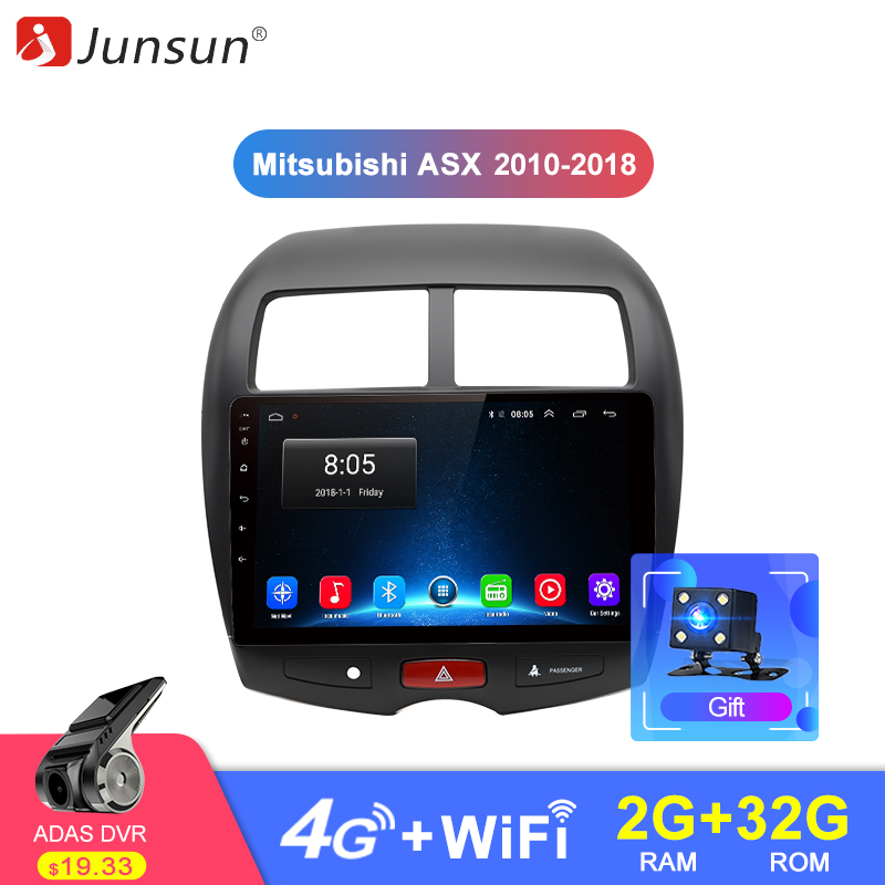 Junsun 2G 32G Android 8 1 4G Car Radio Multimedia Audio Player Navi GPS For Mitsubishi