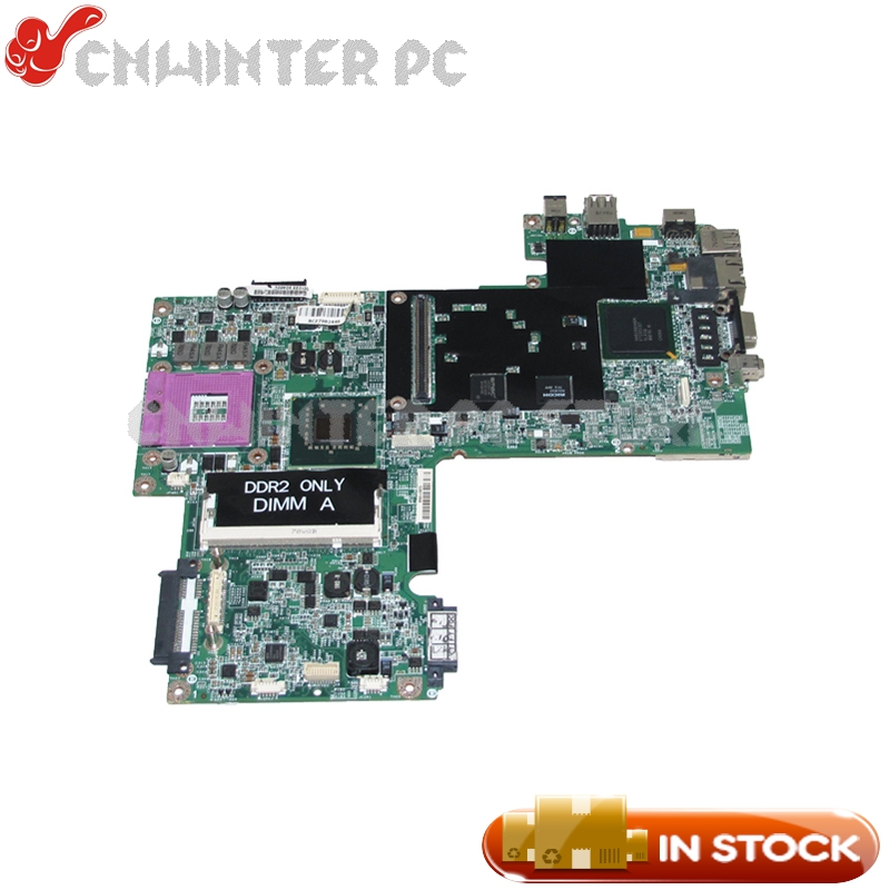 все цены на NOKOTION CN-0WP044 0WP044 WP044 For Dell inspiron 1520 laptop motherboard 15'' PM965 DDR2 with graphics slot Free CPU онлайн