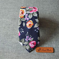 Laços Para Homens Skinny Vestidos do vintage Flor Floral Impresso Pescoço Arco Algodão Laços Corbatas Bowtie Noivo Partido Gravata