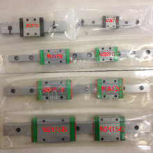 15mm cnc linear slider MGN15H CNC linear guide ball bearing steel MGN15 L300mm rail for font