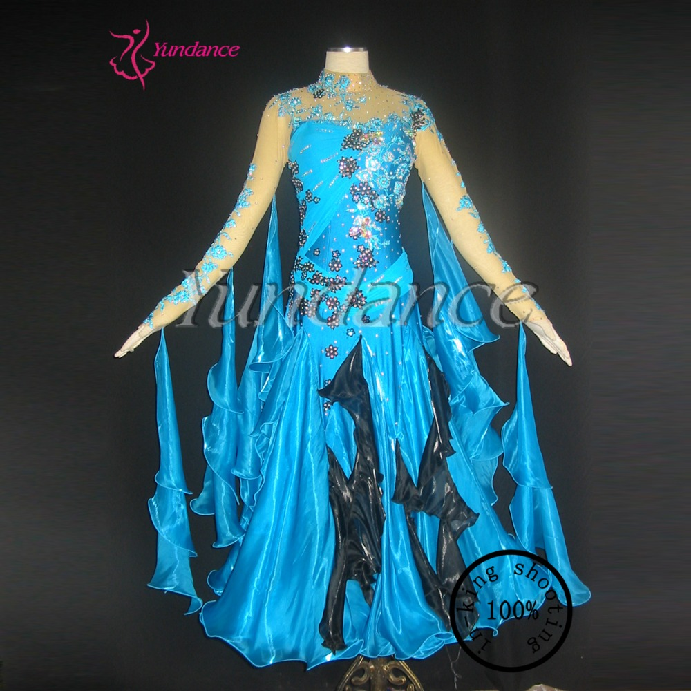 Hot Design For Girls' Stage Performance Competition Ballroom Dance Dress 2016  B-11178