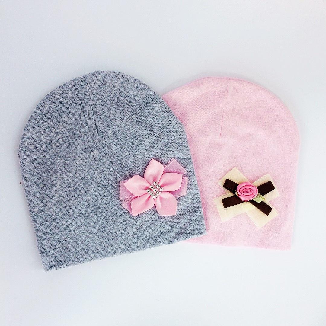 Брендовая шапка для маленьких девочек, шапка, галстук-бабочка, хлопковая разноцветная шапочка для девочек с бантом-бабочкой на возраст 6-3 го...